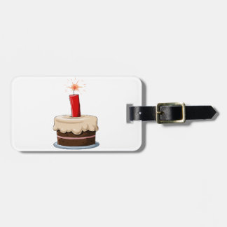 Dynamite In A Cake Luggage Tags