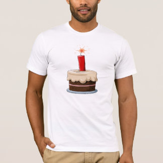 Dynamite In A Cake Mens T-Shirt