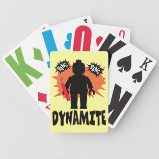 Dynamite Minifig by Customize My Minifig Bicycle Playing Cards