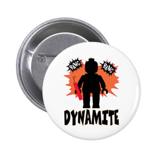 Dynamite Minifig by Customize My Minifig Buttons