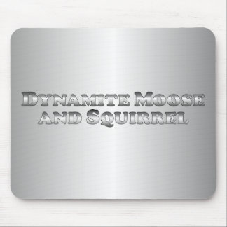 Dynamite Moose and Squirrel - Basic Mouse Pad