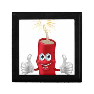 Dynamite or firecracker man gift box