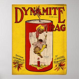 Dynamite Rag Print