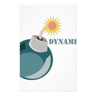 Dynamite Stationery