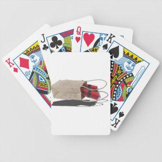 DynamiteInBurlapBag081614 copy.png Bicycle Playing Cards