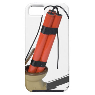 DynamiteInToilet092715.png iPhone SE/5/5s Case
