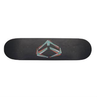 Dynamo Black Skateboard Deck