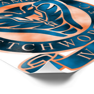 Dynamo Letchworth Badge Poster