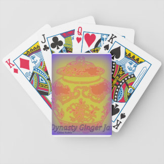 Dynasty Ginger Jar #5 Bicycle Card Deck