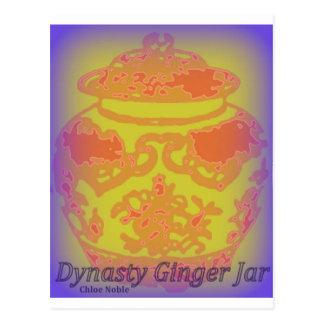 Dynasty Ginger Jar #5 Postcard