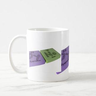 Dyne as Dy Dysprosium and Ne Neon Coffee Mug