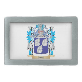 Dyne Coat of Arms - Family Crest Belt Buckle