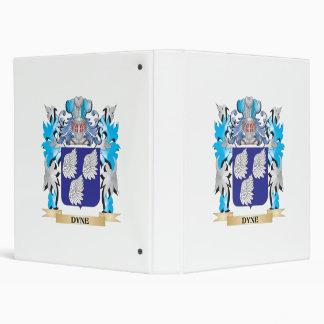 Dyne Coat of Arms - Family Crest Binders