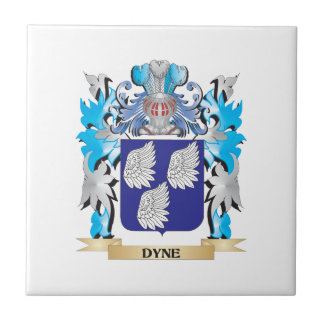Dyne Coat of Arms - Family Crest Ceramic Tiles