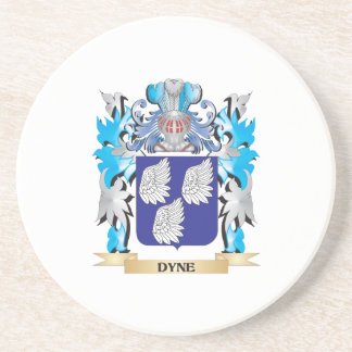 Dyne Coat of Arms - Family Crest Coaster