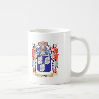 Dyne Coat of Arms - Family Crest Coffee Mug