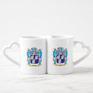 Dyne Coat of Arms - Family Crest Lovers Mug Set