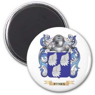Dynes Coat of Arms 2 Inch Round Magnet