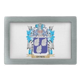 Dynes Coat of Arms - Family Crest Rectangular Belt Buckles
