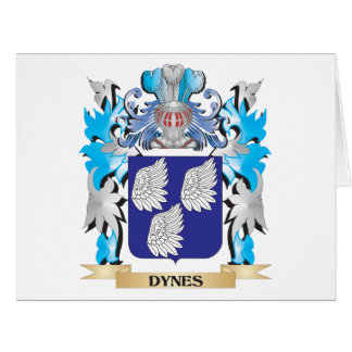 Dynes Coat of Arms - Family Crest Card