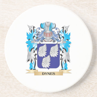 Dynes Coat of Arms - Family Crest Coasters