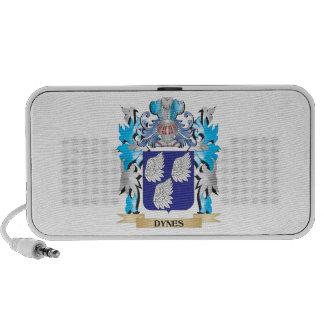 Dynes Coat of Arms - Family Crest iPod Speaker