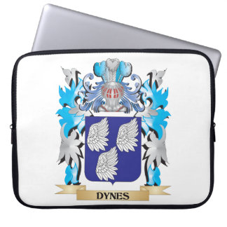 Dynes Coat of Arms - Family Crest Laptop Sleeve