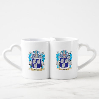 Dynes Coat of Arms - Family Crest Lovers Mug Set