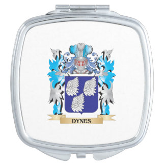 Dynes Coat of Arms - Family Crest Mirrors For Makeup