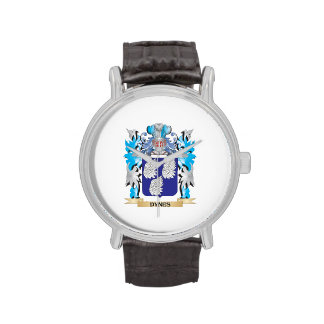 Dynes Coat of Arms - Family Crest Wristwatch
