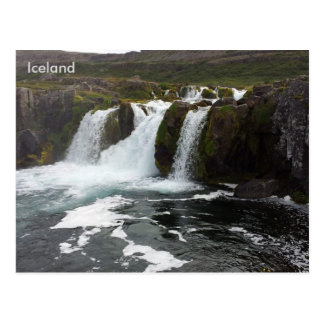 Dynjandi (Fjallfoss), Westfjords, Islandia Tarjetas Postales