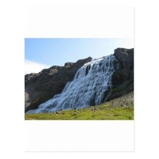 Dynjandifoss Postkarten