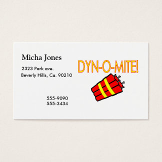 Dynomite Dynamite Business Card
