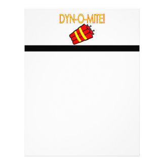 Dynomite Dynamite Letterhead