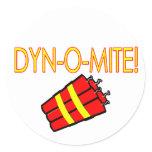 Dynomite stickers