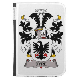 Dyre Family Crest Kindle Keyboard Covers