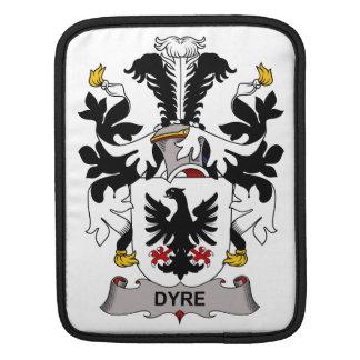 Dyre Family Crest Sleeve For iPads