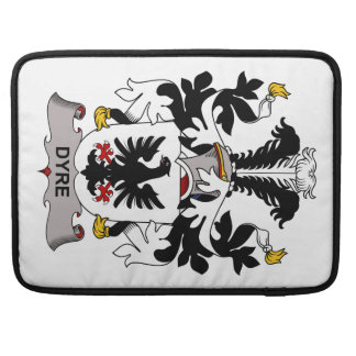 Dyre Family Crest Sleeves For MacBook Pro