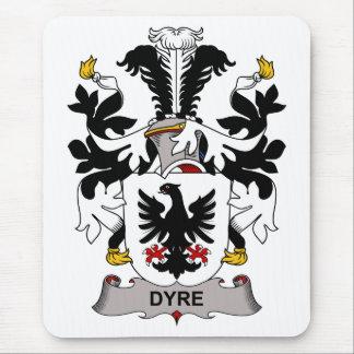 Dyre Family Crest Mouse Pads