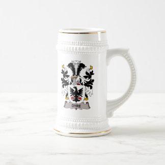 Dyre Family Crest Coffee Mugs