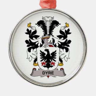 Dyre Family Crest Ornament