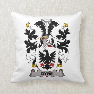 Dyre Family Crest Pillow