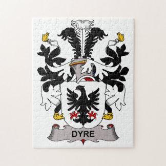 Dyre Family Crest Puzzle