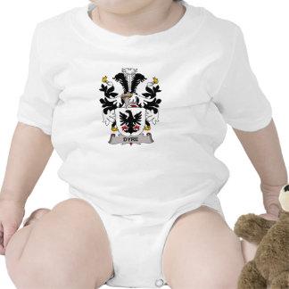 Dyre Family Crest Baby Bodysuits