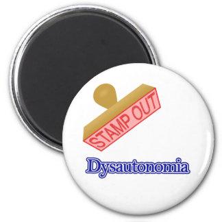 Dysautonomia 2 Inch Round Magnet