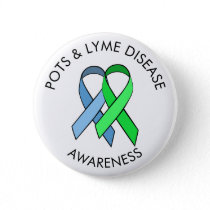 Dysautonomia and Lyme Disease Awareness Ribbon Pin