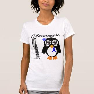 Dysautonomia Awareness Penguin Tshirts