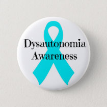 Dysautonomia Awareness Pinback Button