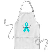 Dysautonomia Awareness Ribbon Apron