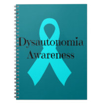 Dysautonomia Awareness Ribbon notebook